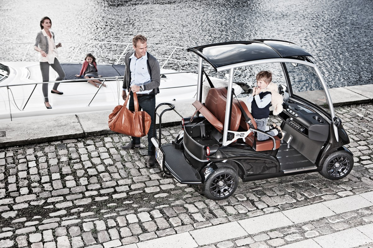 Garia For Pleasure And Relaxation