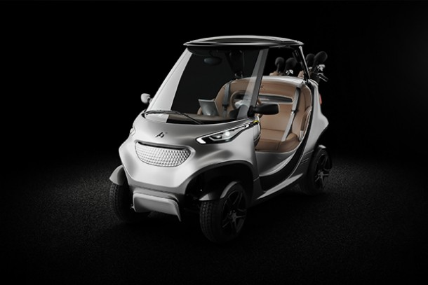 Garia Golf Car Inspired By Mercedes Benz Style Now For