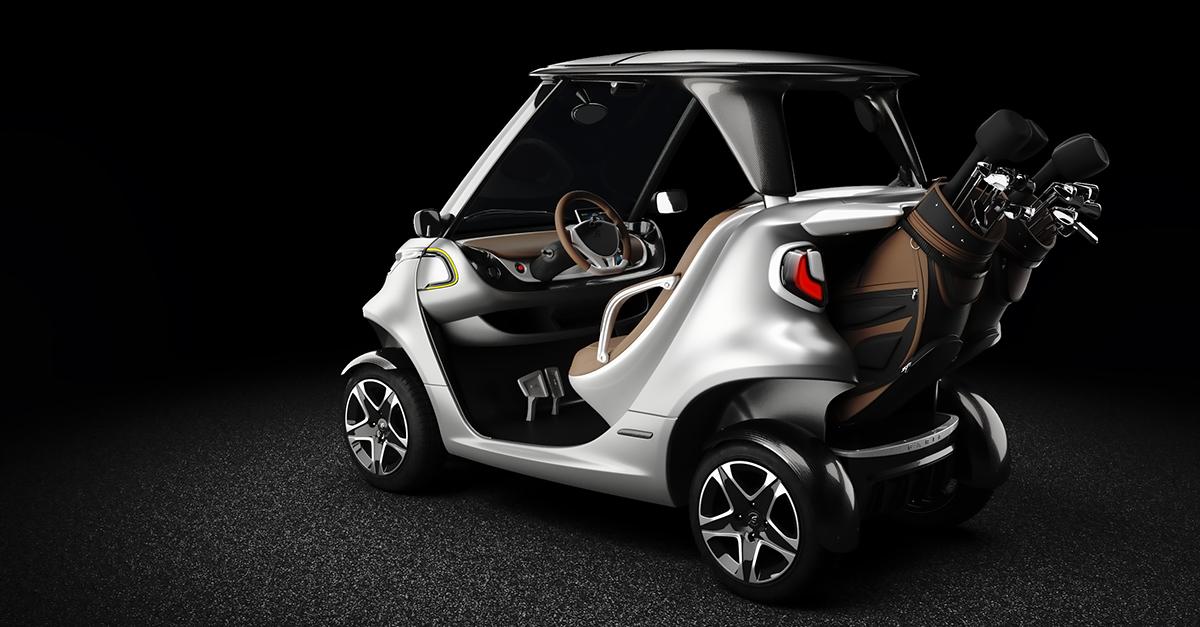 Coolest Golf Car Ever - Garia Luxury Golf Car